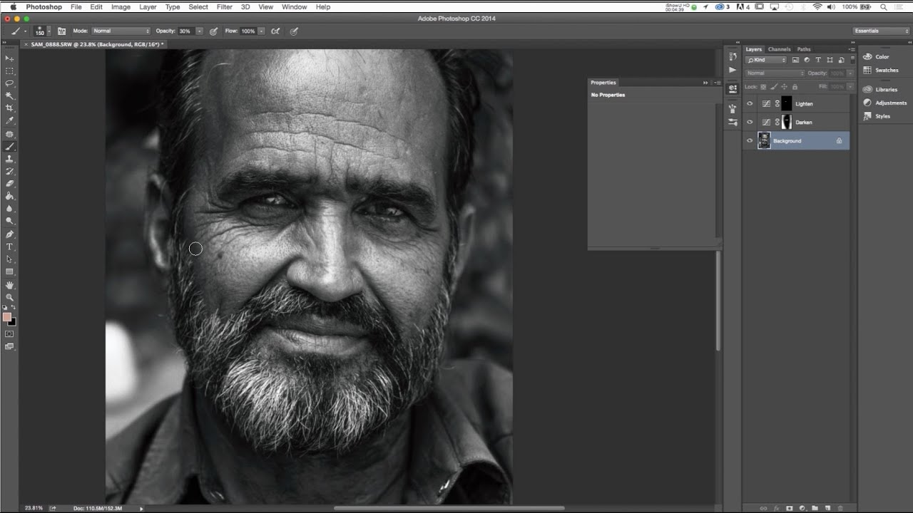 Photoshop - Introduction to the Dodge and Burn Technique
