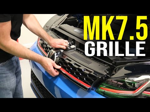 How to Remove a Mk7.5 GTI Grille