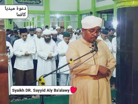 saat Qori' dari YAMAN  menjadi imam di Karanganyar _ Syaikh DR. Sayyid Aly Ba'alawy