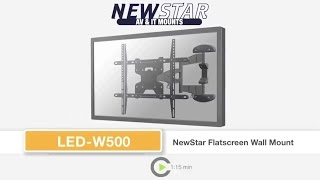 NEWSTAR LED W500 FLAT SCREEN WALL MOUNT
