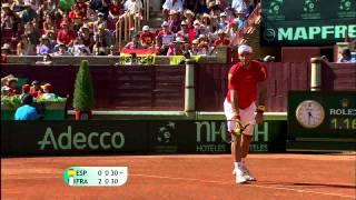 Resumen Copa Davis: España 4-1 Francia (Semifinales 2011)