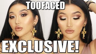 MATTE SMOKEY EYE    IT JUST COMES NATURALLY TOOFACED COLLECTION EXCLUSIVE!