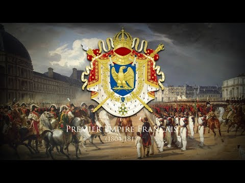 """First French Empire (1804-1815) Imperial Marches """"Marche Impériale Française"""""""