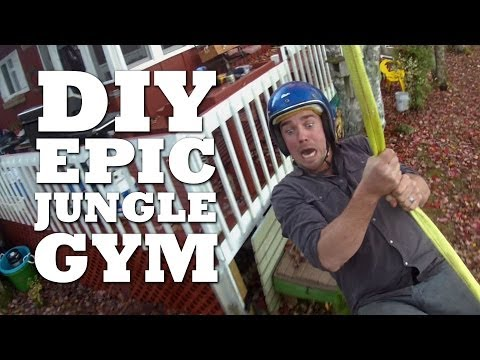 How to Make an Outdoor Jungle Gym