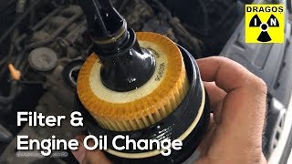 How to Change Engine Oil & Filter - VW Polo 9N