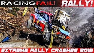 WRC RALLY CRASH EXTREME BEST OF 2019 THE ESSENTIAL COMPILATION! PURE SOUND!