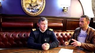 """Интервью с капитаном парусника """"Крузенштерн"""""""
