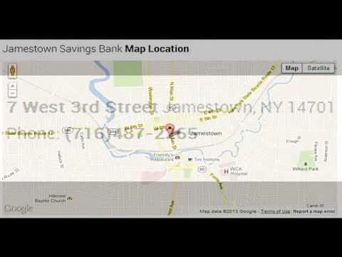 Jamestown Savings Bank Corporate Office Contact Information