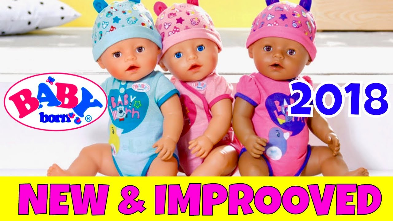 304a11ab2 WOW! New 2018 Baby Born Soft Touch Doll Reveal! Pictures