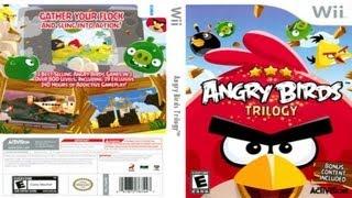 Nintendo Wii: Angry Birds - HD (720p).