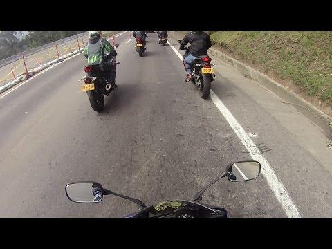 Bogotá - La vega Yamaha R15 Sony As20
