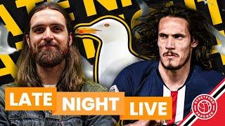 Cavani Transfer Request!   Late Night LIVE   Stretford Paddock