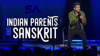 Benevolent Indian Parents and Sanskrit | I Was Not Ready Da | Aravind SA