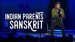 Benevolent Indian Parents and Sanskrit | I Was Not Ready Da | Aravind SA