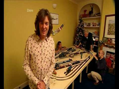 Hornby Model Railway (toys for boys ) James May