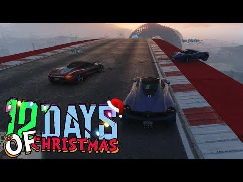RYAN MAG NIET WINNEN! (GTA V 12 Days of Christmas #5)