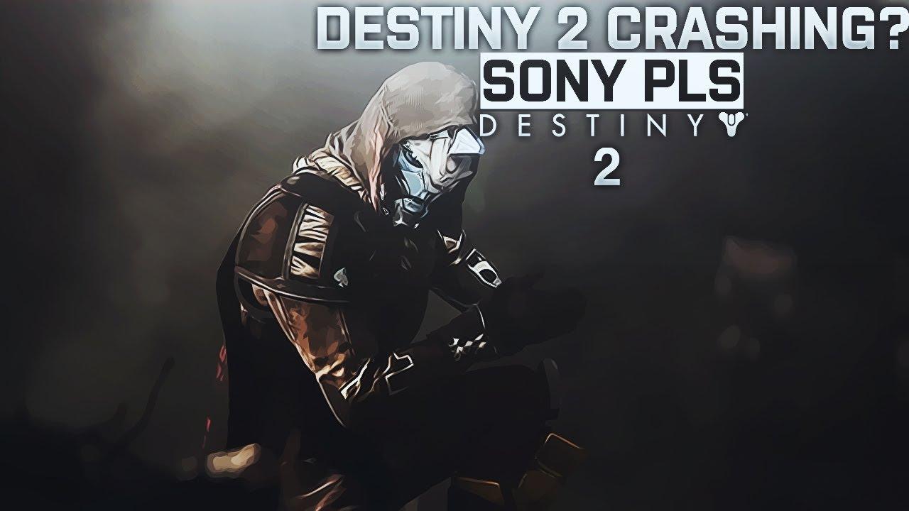 Destiny 2 Ps4 pro Crashing  these settings MIGHT help  smh sony