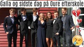 GALLA OG SIDSTE DAG PÅ EFTERSKOLE - VLOG