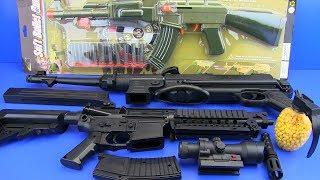 GUNS TOYS FOR KIDS ! Military Guns Video for Kids SURPRISE TOYS !!