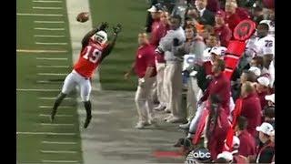 Quand les sportifs font des interceptions incroyables !