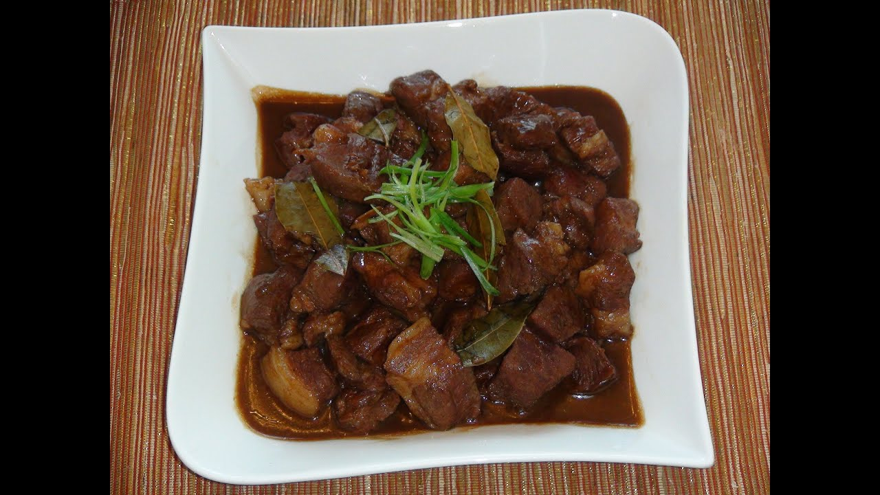 Pinoy recipe best adobo recipe pork stew with soy sauce and pinoy recipe best adobo recipe pork stew with soy sauce and vinegar youtube forumfinder