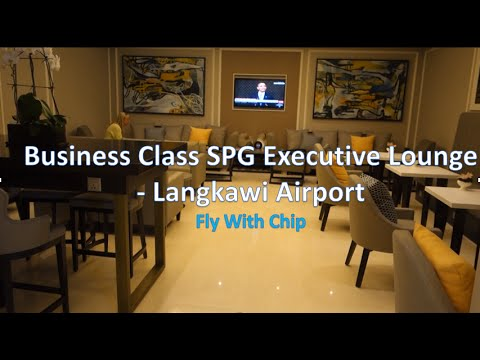 Amazing Executive Westin Lounge at Langkawi Airport, Malaysia. SPG/Westin/St. Regis Lounge