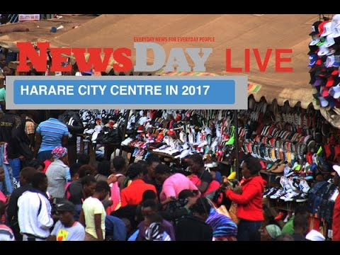 The 2017 state of Harare City centre in 3 mins: Part 1