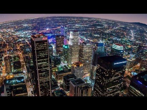 "Los Angeles time lapse photography ""PANO LA"" by Joe Capra aka Scientifantastic"