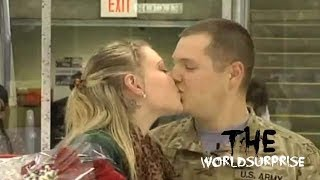 Soldier Surprises Wife with Homecoming at Jackals Game