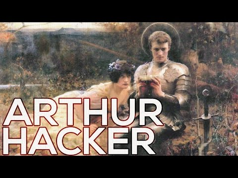 Arthur Hacker: A collection of 90 paintings (HD)