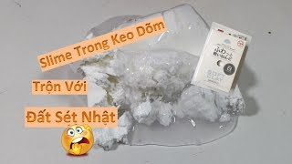 Trải Nghiệm Trộn Slime Trong Dõm Vào Đất Sét Daiso Nhật II Kết Quả Thành Công Hay Ra Gì Đó Ghê Gớm?