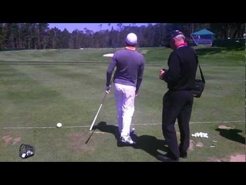 US Open 2010 Tour Lock Pro Working with Sergio