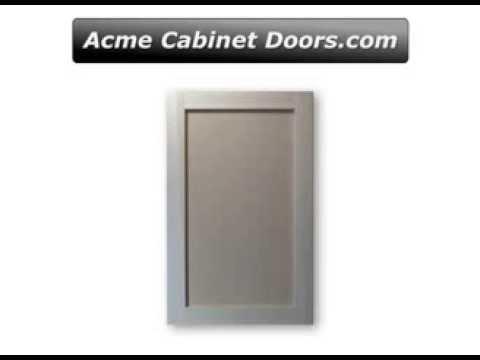 Poplar Frame With Mdf Panel Shaker Style Cabinet Door Youtube