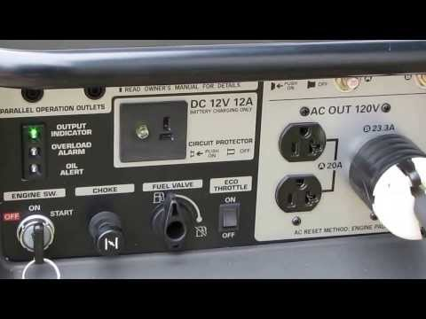 Honda Generators And Power Outages Solar And Wind  Preparing Pt 1 By kvusmc