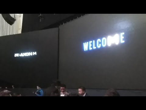 ZTE AXON M LIVE EVENT KEYNOTE PRESS MEDIA LAUNCH