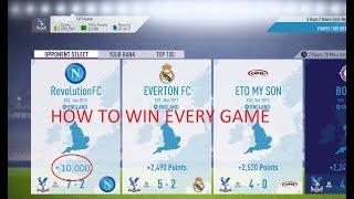 FIFA 18 SQUAD BATTLES HACK WIN ON ULTIMATE 5-0 EVERY GAME ***MUST WATCH*** SQUAD BATTLES GLITCH