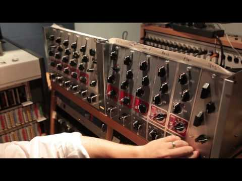 Coil Audio drum session at ARC studios with Mike Mogis