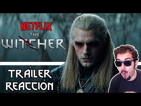 THE WITCHER (NETFLIX)   TRÁILER ESPAÑOL   REACCIÓN   ¡Increíble!