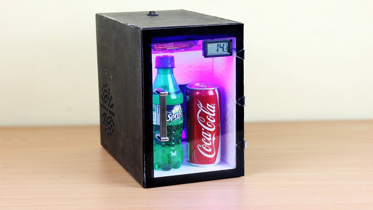 Small Portable Fridge How To Make A Fridge At Home
