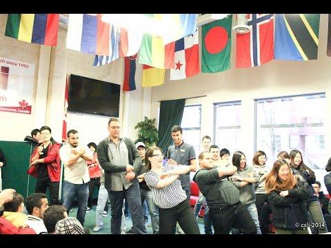 CSLI Break time Activity   Dance Off 2015