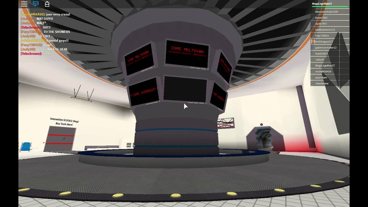 Reactor Core Meltdown and Attempted Escape in `Innovation Research Labs`