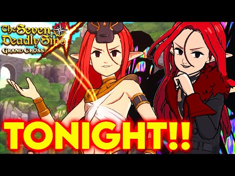 TONIGHT FOR GLOBAL!!! RED GLOXINIA IS VERY GOOD!!! | Seven Deadly Sins: Grand Cross