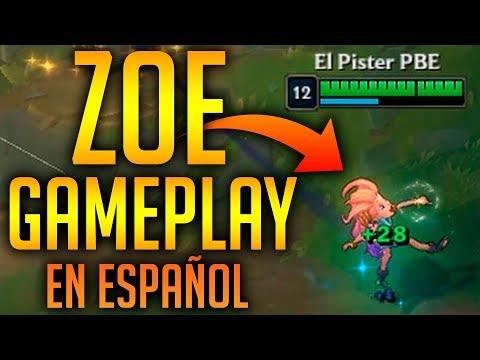 ZOE GAMEPLAY - PBE (EN ESPAÑOL)