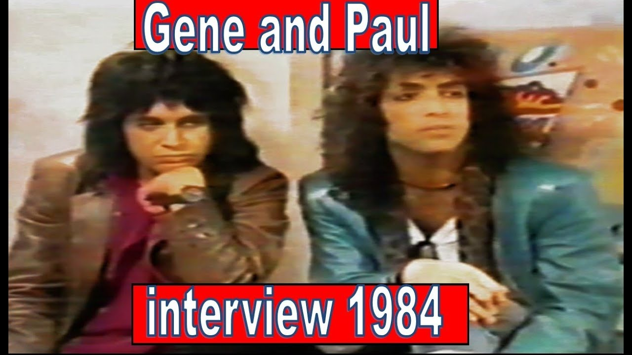 Download Gene Simmons and Paul Stanley 1984 tv interview