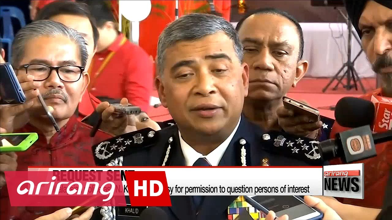 Malaysian police ask N. Korean embassy for permission to question persons of interest