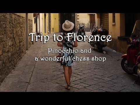 Trip to Florence: Pinocchio & a wonderful chess shop