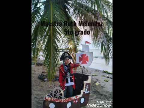 Celebrando el día Descubrimiento de PuertoRico la escuela Ludovico Costoso en Bayamon....