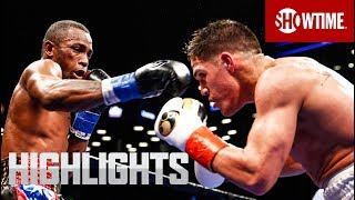 Lara vs. Castano: Highlights | SHOWTIME CHAMPIONSHIP BOXING