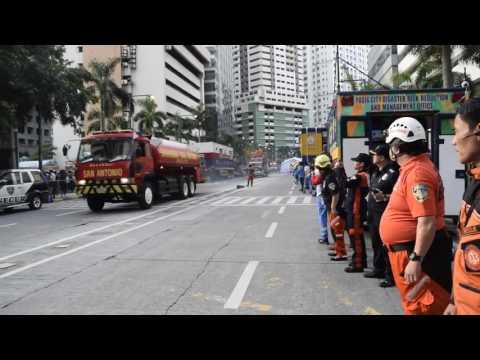 Pasig City Participated on Metro Manila Shake Drill 2017