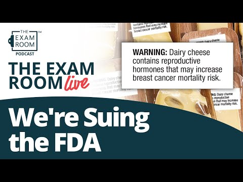 We're Suing the FDA: Cheese and Breast Cancer
